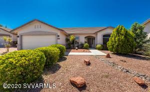Move-in Ready Home ! Located in Cottonwood Ranch Subdivision near Yavapai College, hospital, restaurants and shopping! Private cul-de-sac! Open and spacious floor plan. Mature landscaping and walking trails!