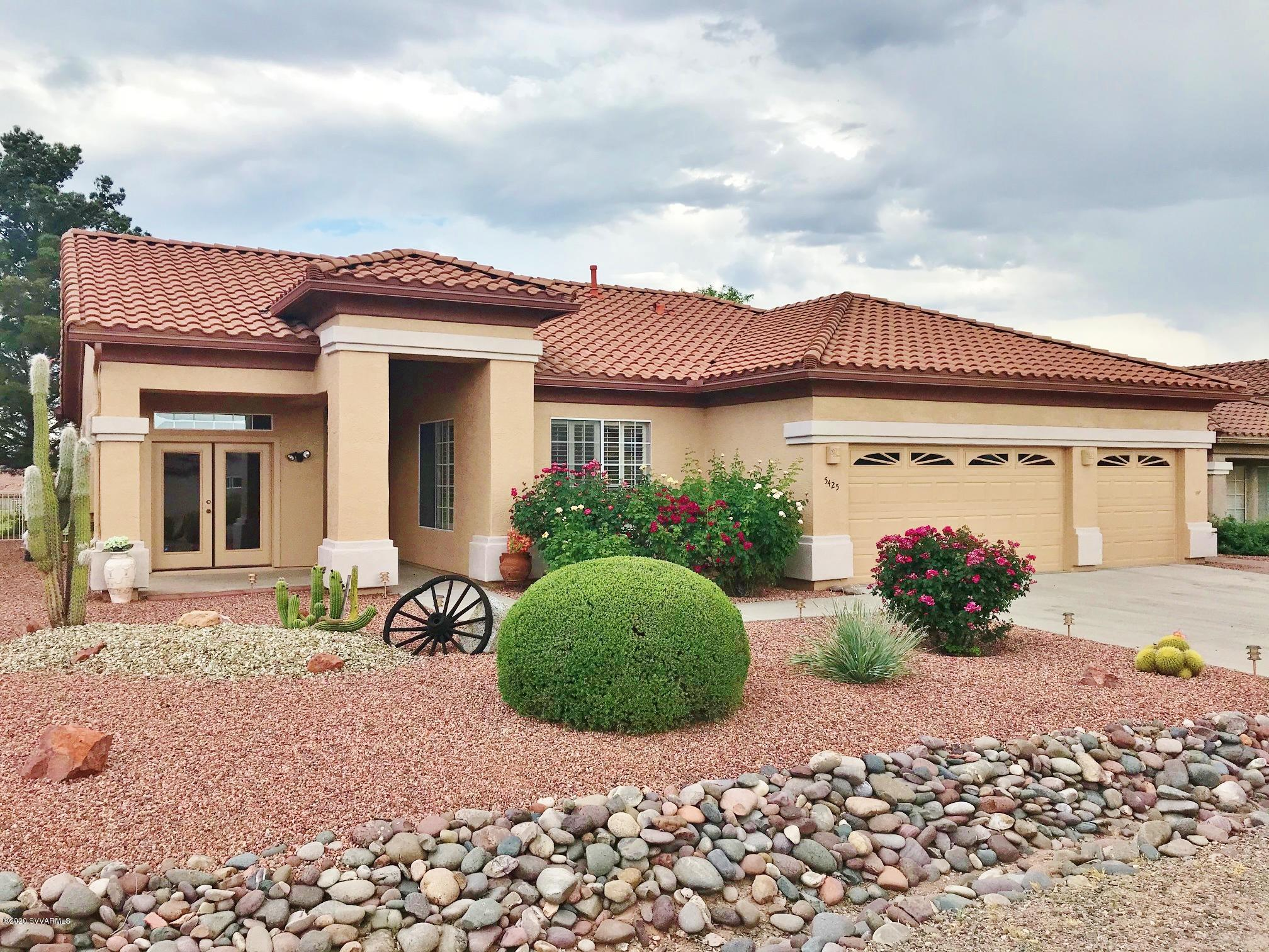 5425 E Whisper Ridge Drive Cornville, AZ 86325