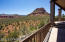 East side red rock views from main deck