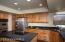 Alder cabinets, granite counter tops & new appliances