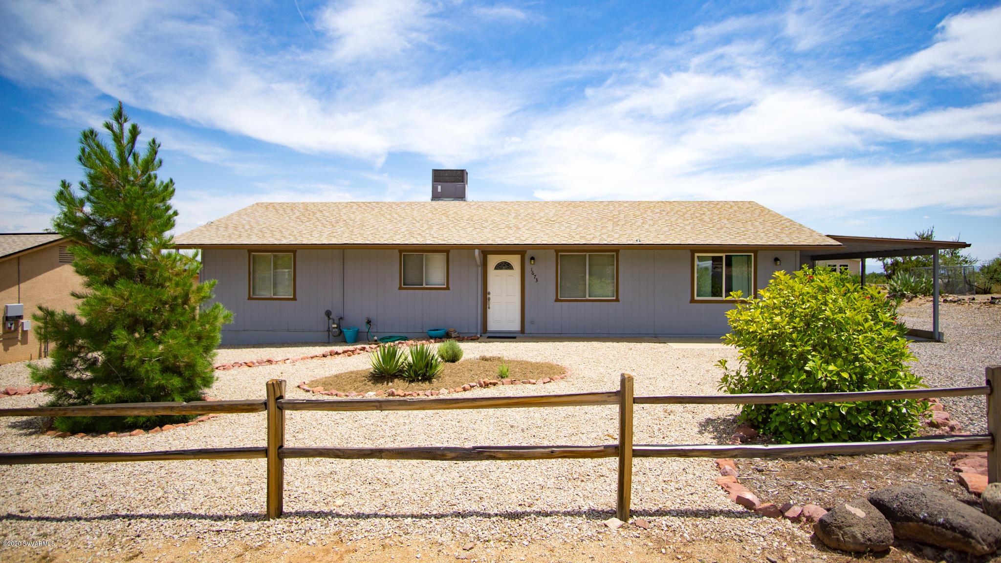 1673 S Verde Drive Cottonwood, AZ 86326