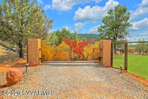 Pegasus Entry Gate and entire estate has full permiter fence.