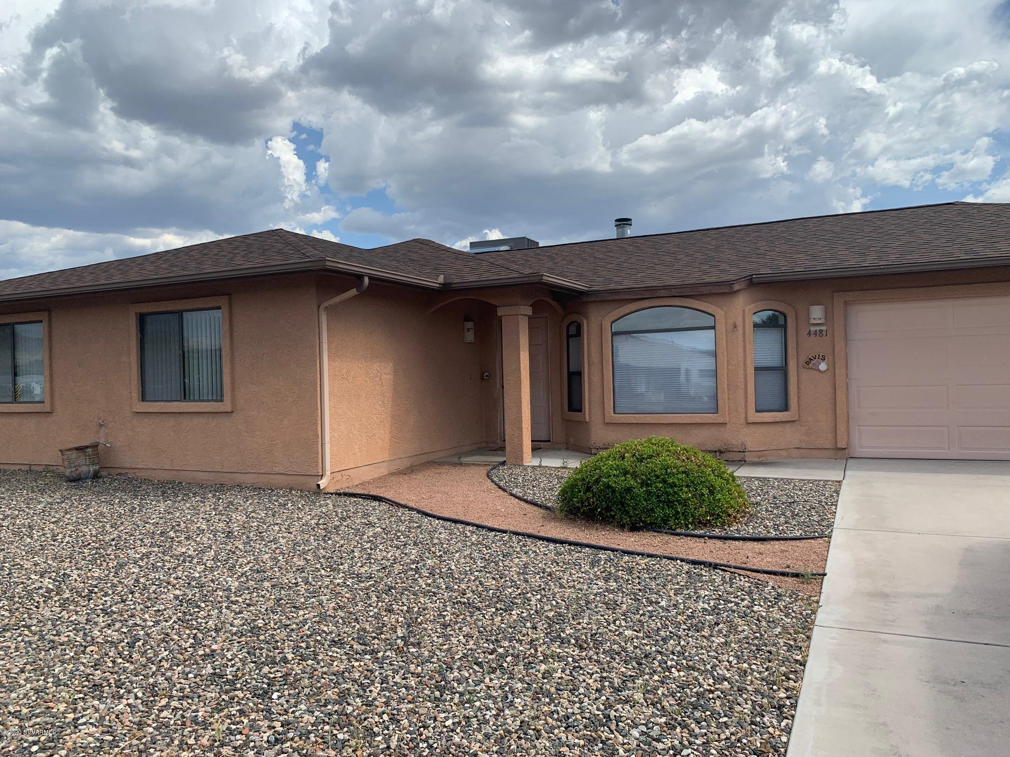 4481 E Canyon Drive Camp Verde, AZ 86322