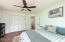 Nicely sized and with a double door closet (partial virtual staging)