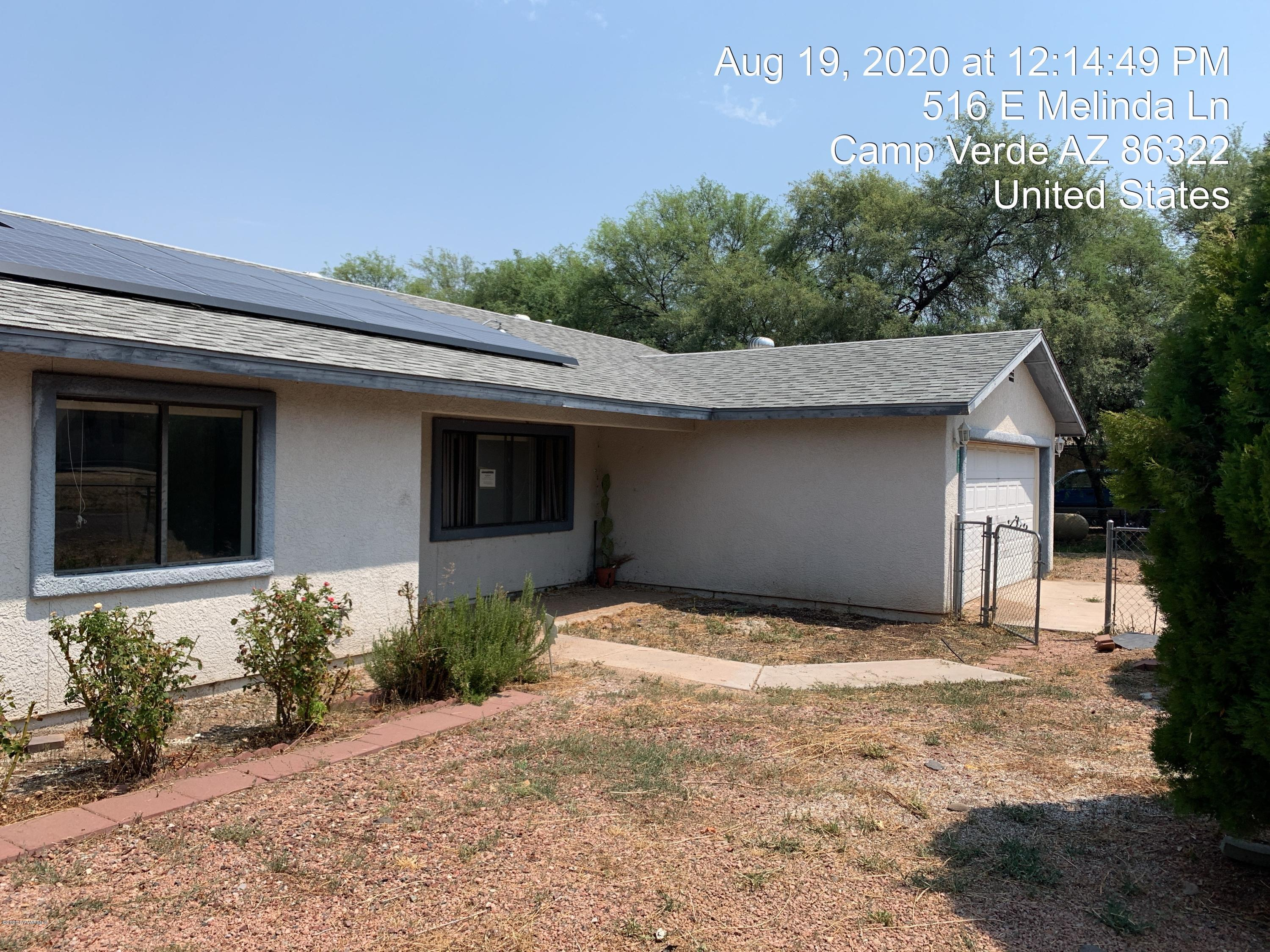516 E Melinda Lane Camp Verde, AZ 86322