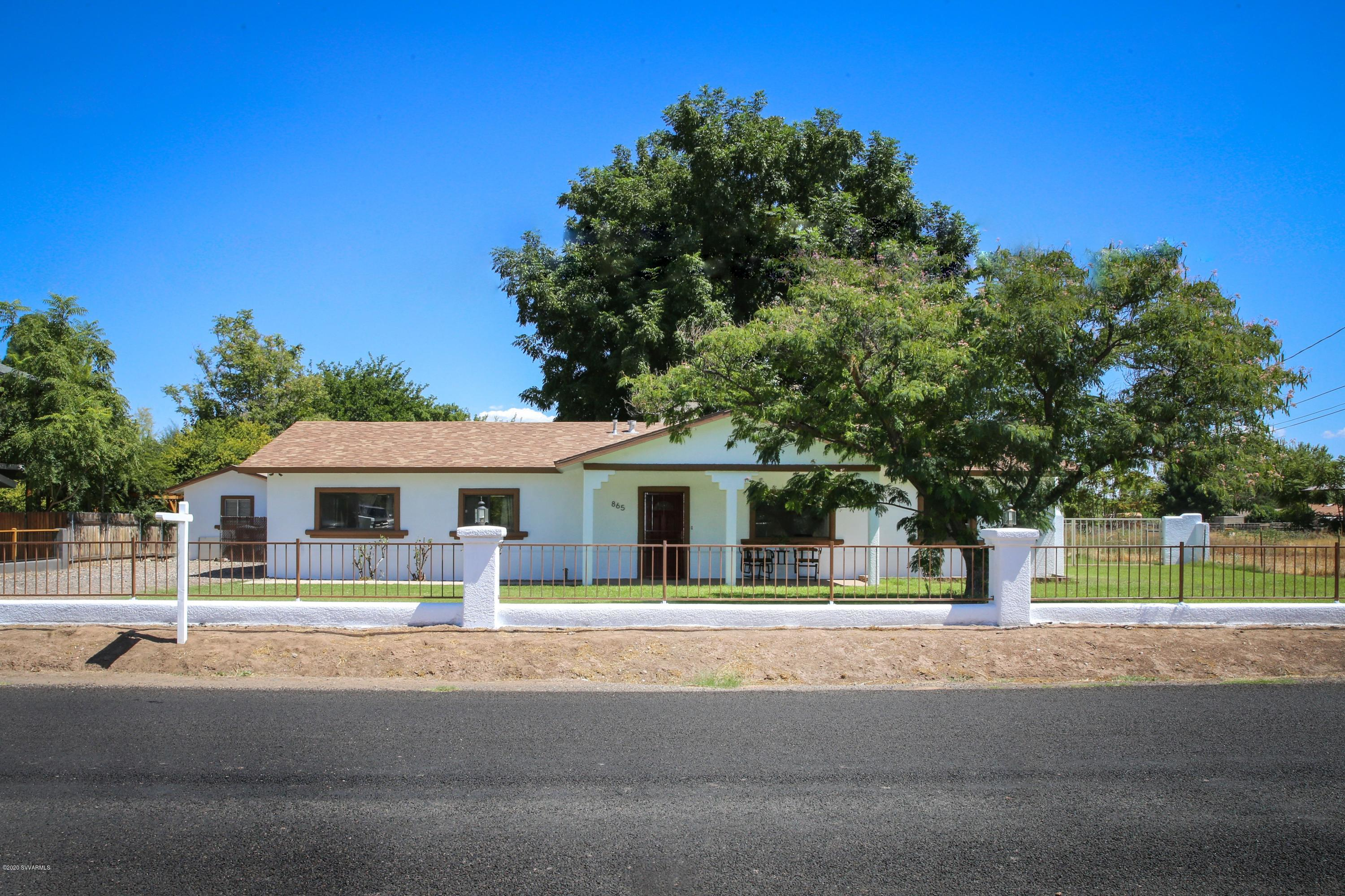 865 N 16th St Cottonwood, AZ 86326