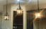 Lovely Lights Above the Awesome Kitchen Island