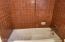 Main bathroom tub.