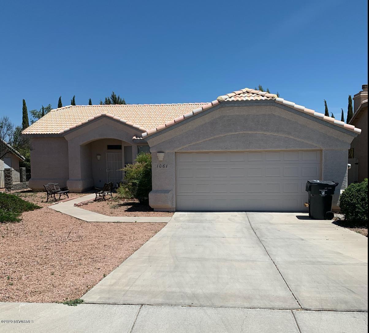 1061 S Vista Grande Drive Cottonwood, AZ 86326
