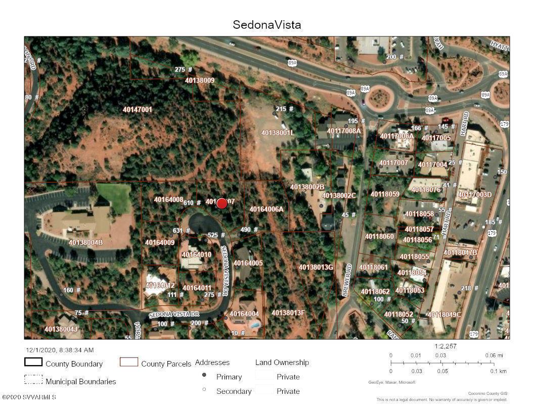 550 Sedona Vista Drive Sedona, AZ 86336
