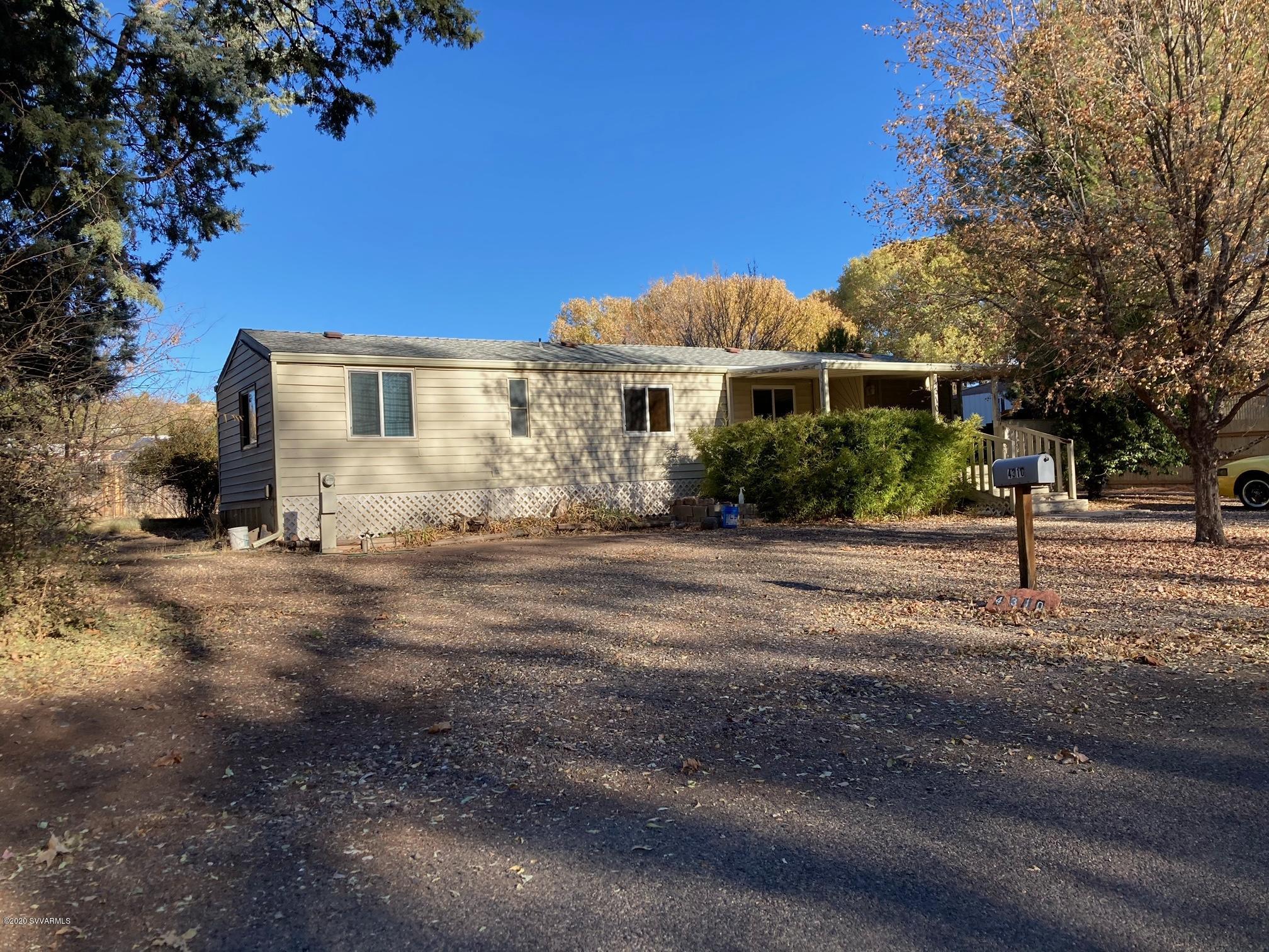 4310 E Aztec Rd Rimrock, AZ 86335