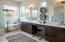 Sundance model home master bathroom