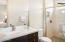 Sundance model home guest suite bath
