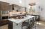 Sundance model home kitchen