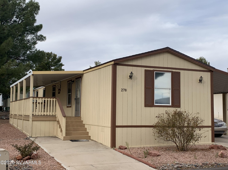 2050 Az-89a UNIT #278 Cottonwood, AZ 86326