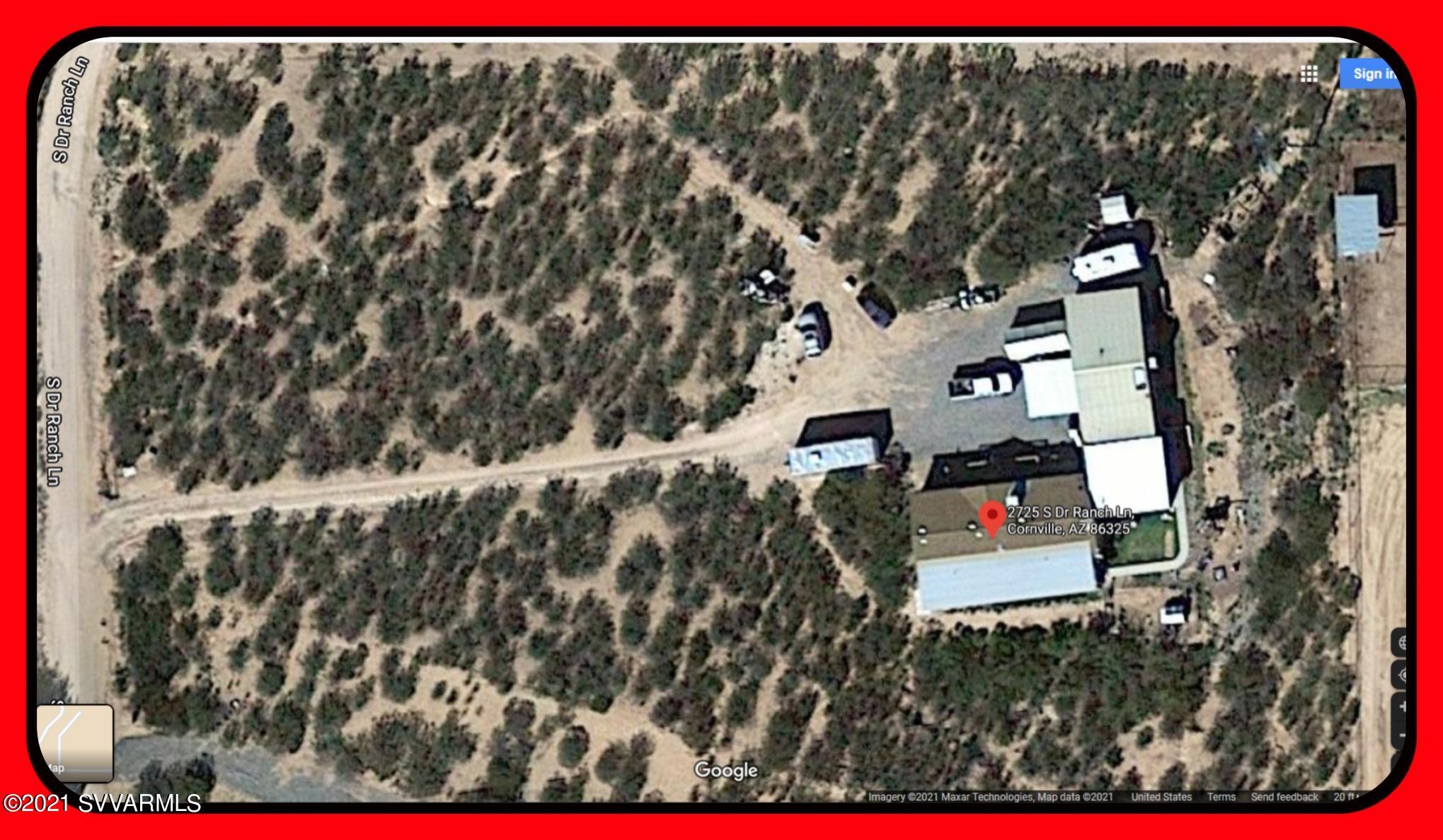 2725 S D R Ranch Lane Cornville, AZ 86325