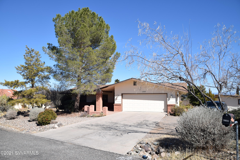 1337 S Chuckawalla Drive Cottonwood, AZ 86326