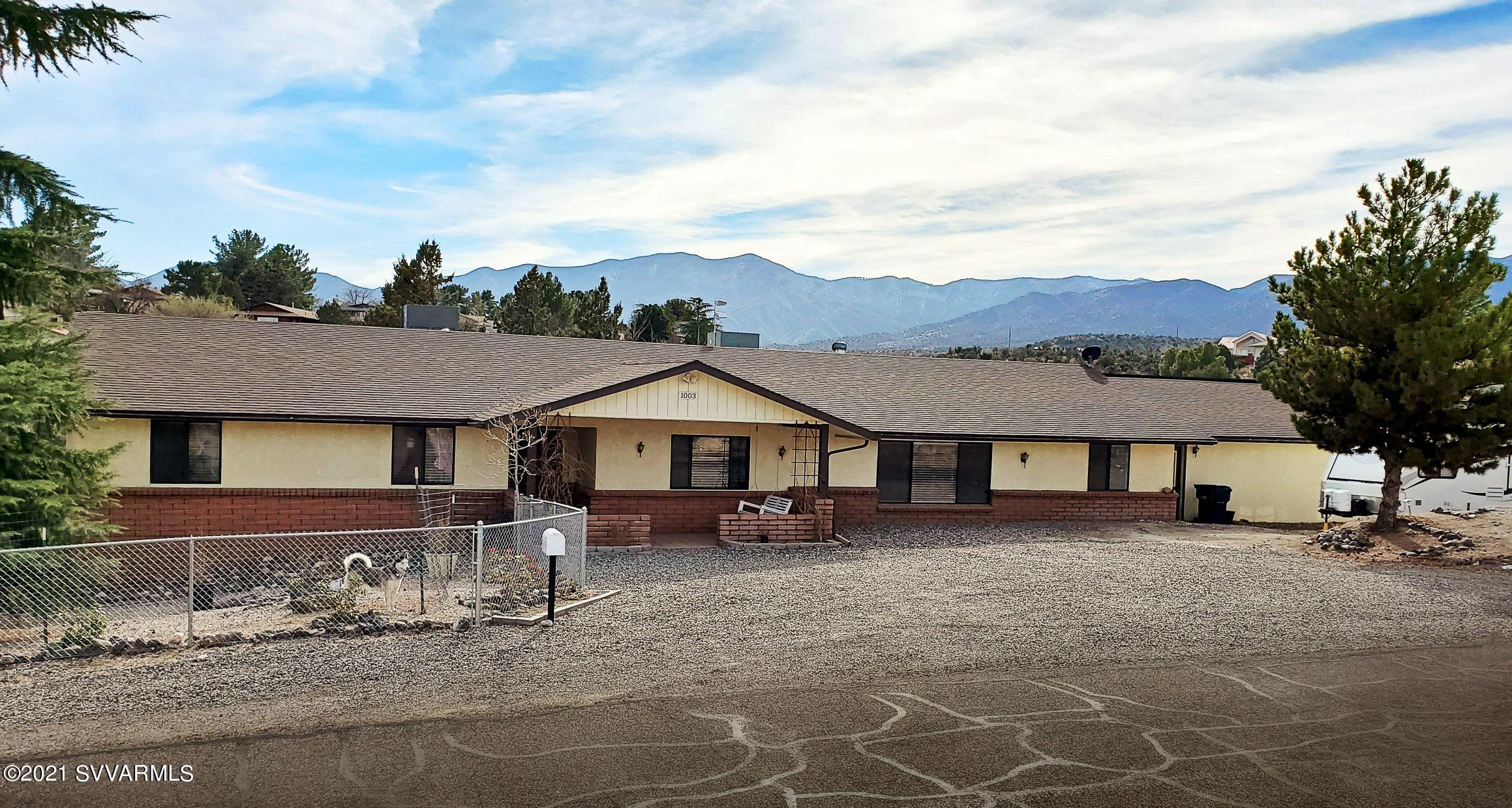 1003 Desert Jewel Drive Cottonwood, AZ 86326