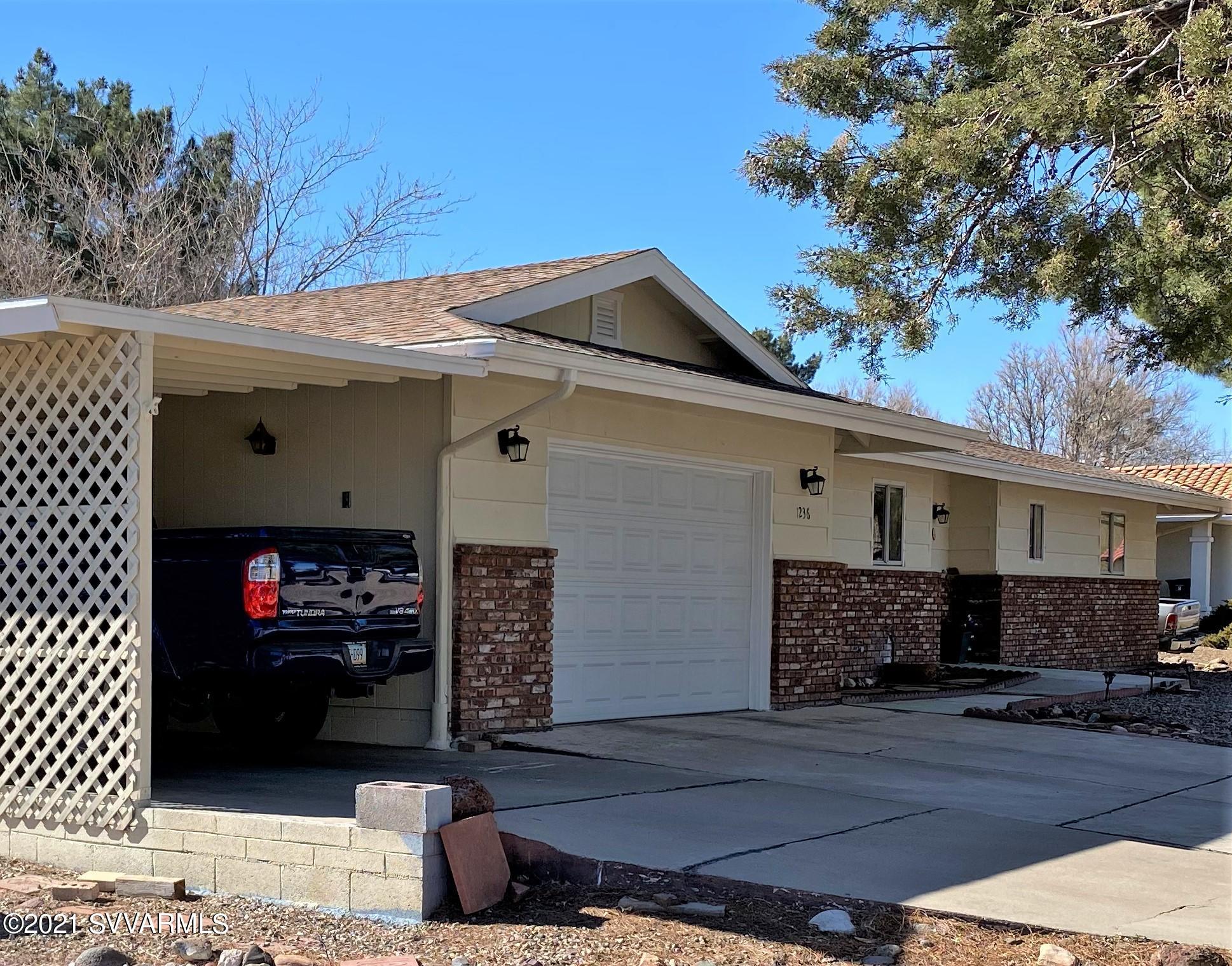 1236 S Tonapah Drive Cottonwood, AZ 86326