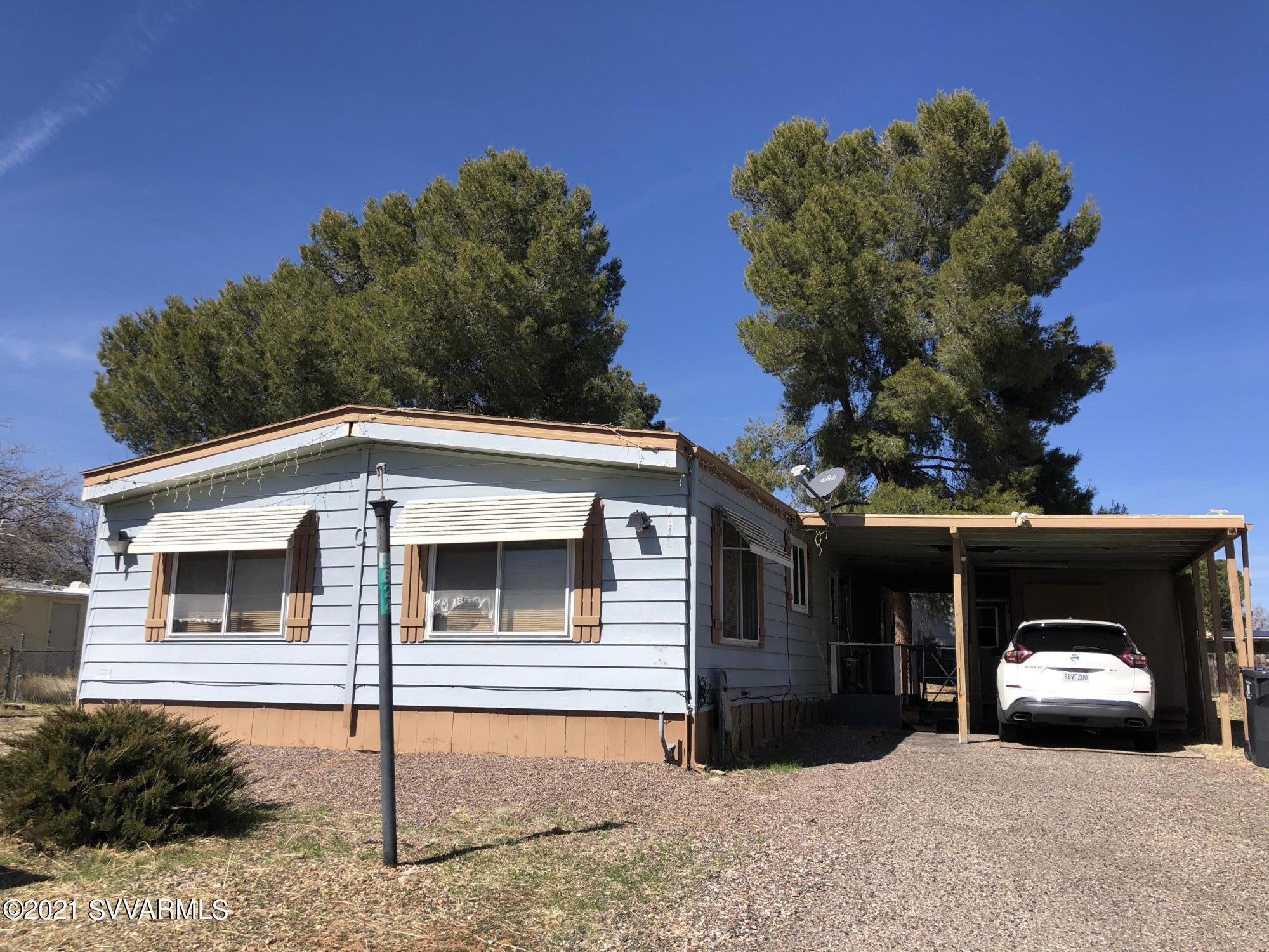 3624 Maricopa Drive Cottonwood, AZ 86326