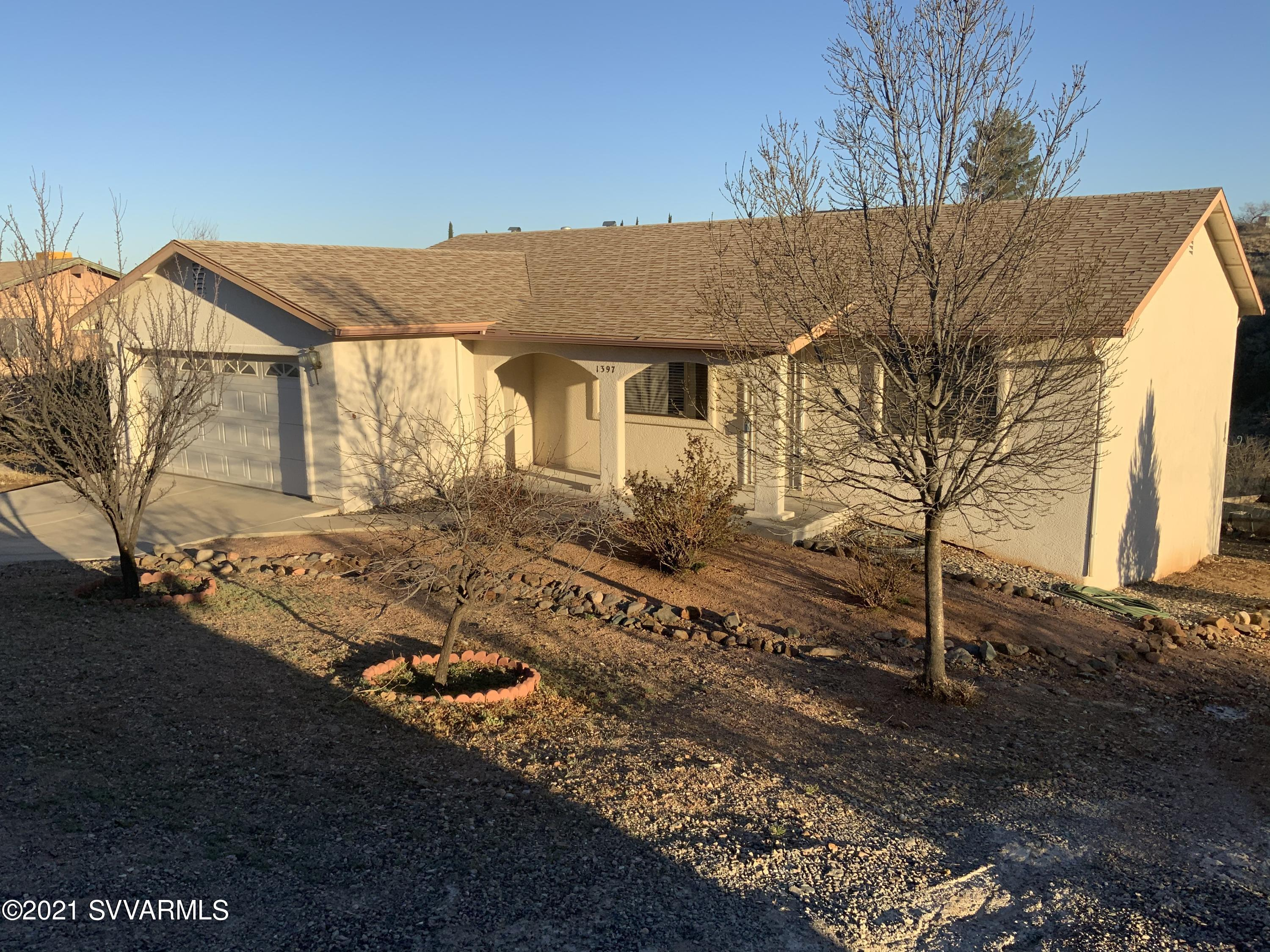 1397 E Sunset Circle Cottonwood, AZ 86326