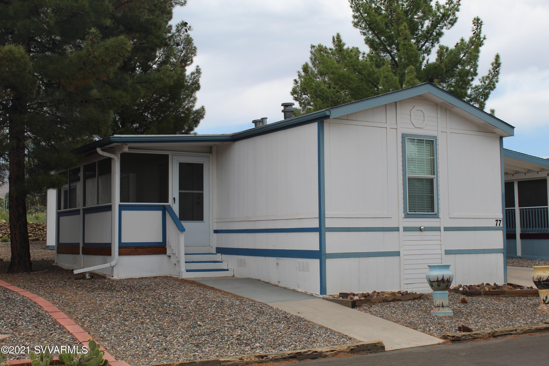 2050 W 89a UNIT #77 Cottonwood, AZ 86326