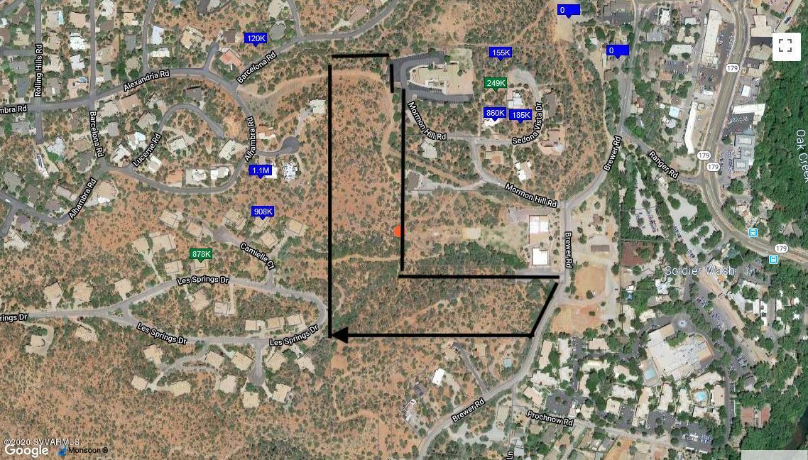 17.93 Acre Lot Portfolio of 3 Assets Rd Sedona, AZ 86336