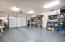 Main level 500 sq ft garage