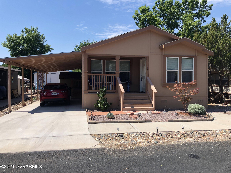 1487 W Horseshoe Bend Drive UNIT #51 Camp Verde, AZ 86322