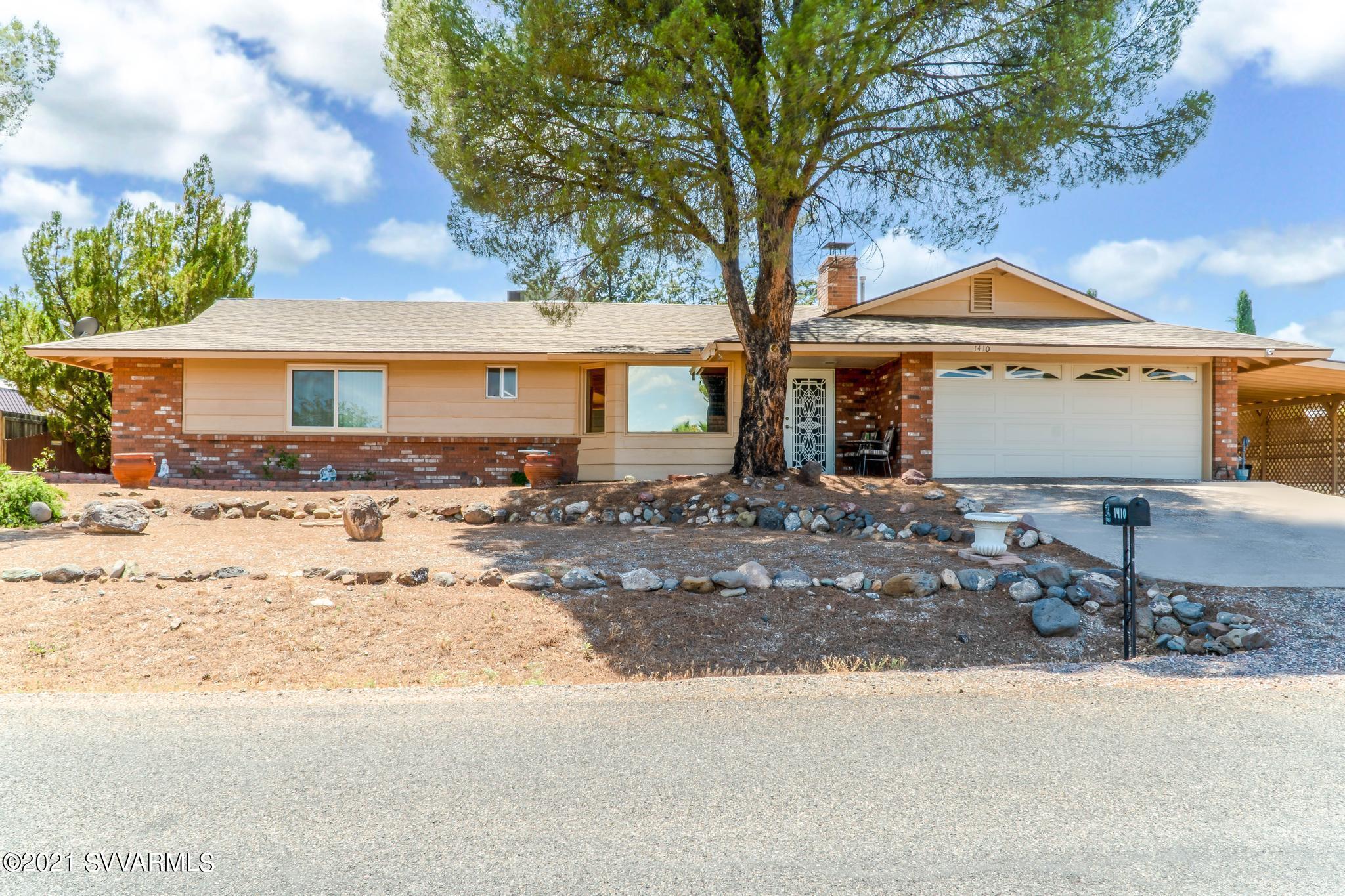 1410 S Glenbar Drive Cottonwood, AZ 86326