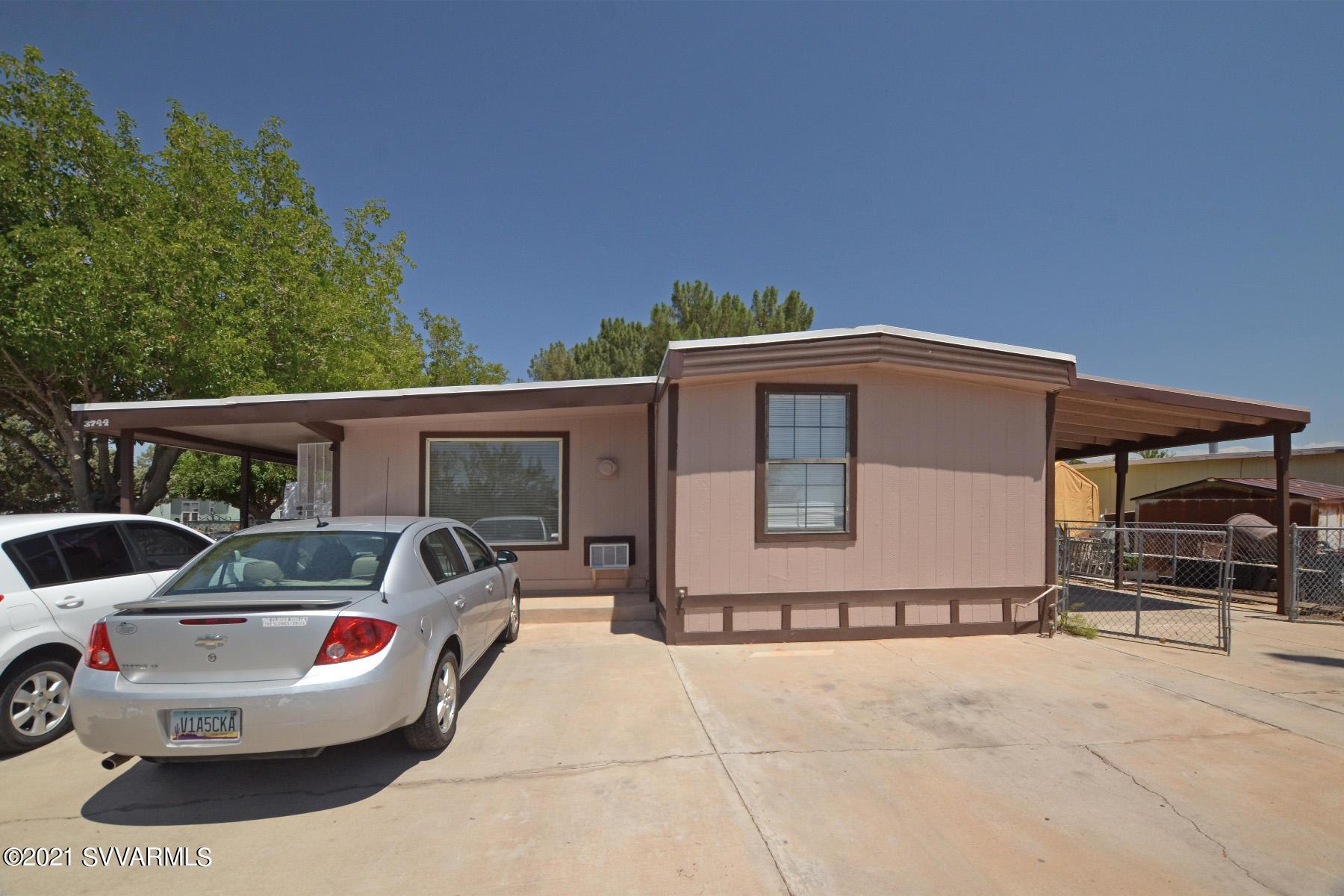 3744 Maricopa Drive Cottonwood, AZ 86326