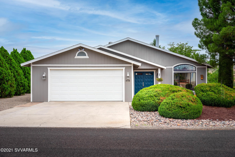 4538 E Diablo Drive Cottonwood, AZ 86326