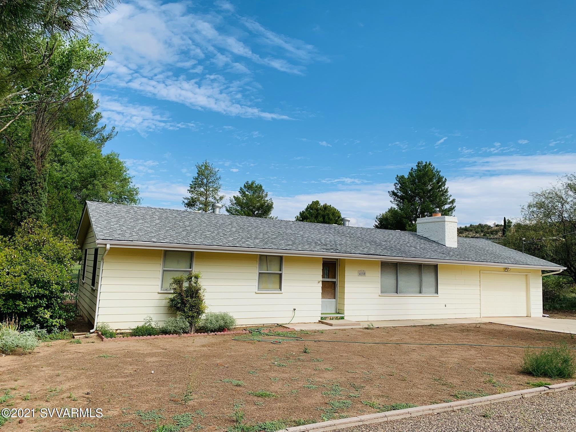 4150 N Elm Drive Rimrock, AZ 86335