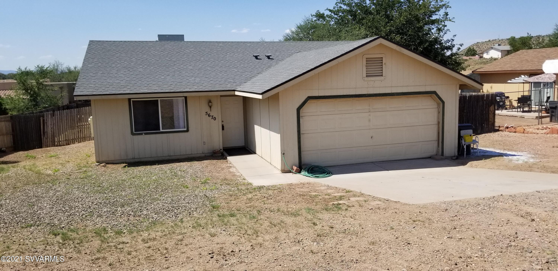 5670 N Towers Drive Rimrock, AZ 86335