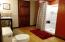 Large Bathroom Lower Level with bamboo wood flooring