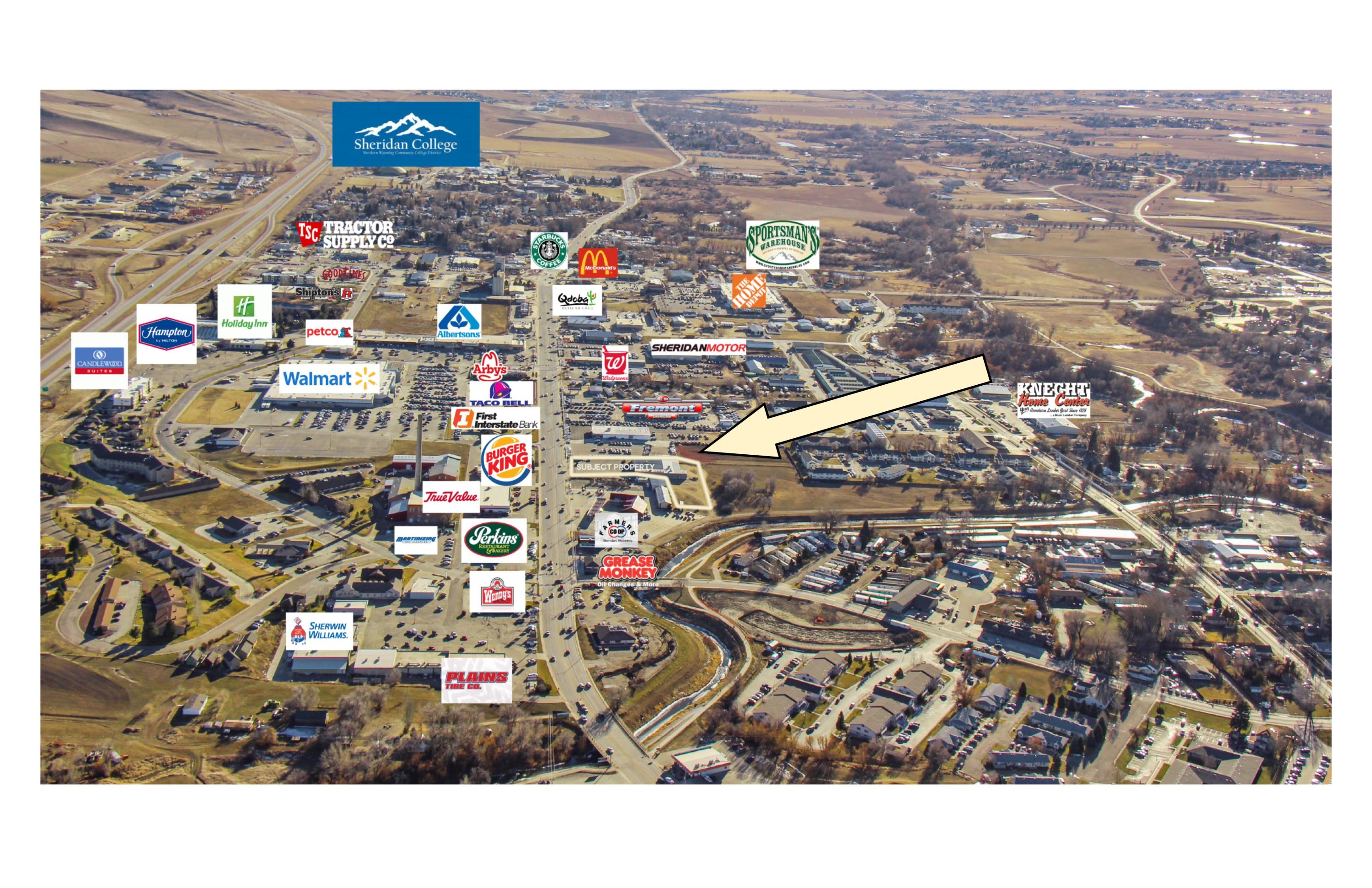 1520 Coffeen Avenue, Sheridan, Wyoming 82801, ,Commercial,For Sale,Coffeen,18-1246