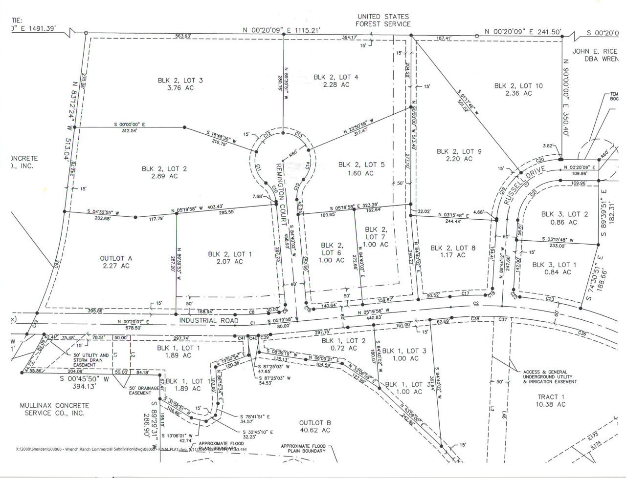 910 Remington Court, Sheridan, Wyoming 82801, ,Commercial,For Sale,Remington,19-63