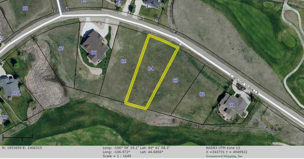 TBD Canyon View Drive, Sheridan, Wyoming 82801, ,Building Site,For Sale,Canyon View,19-144