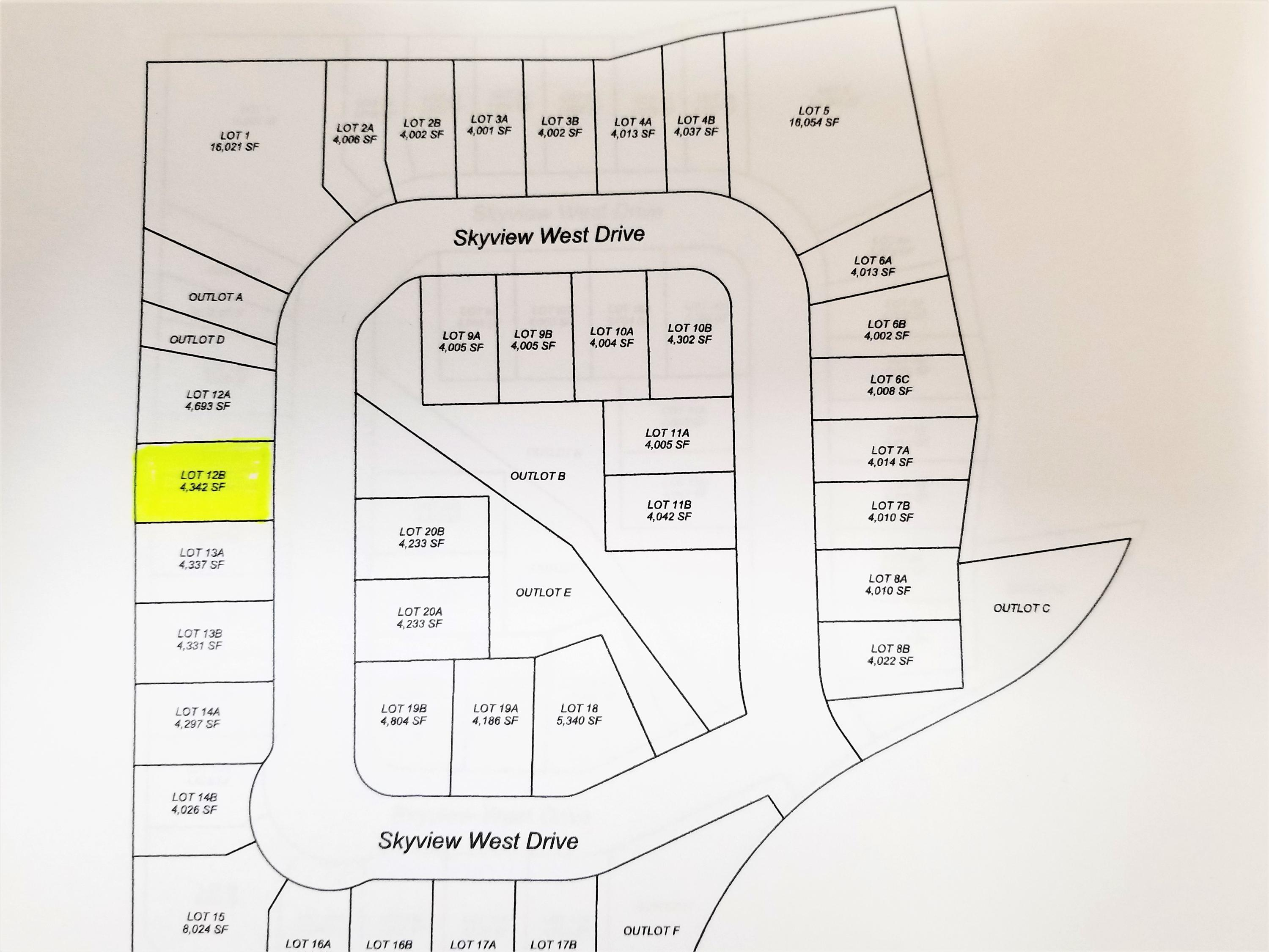 2153 Skyview West Drive, Sheridan, Wyoming 82801, ,Building Site,For Sale,Skyview West,18-1290