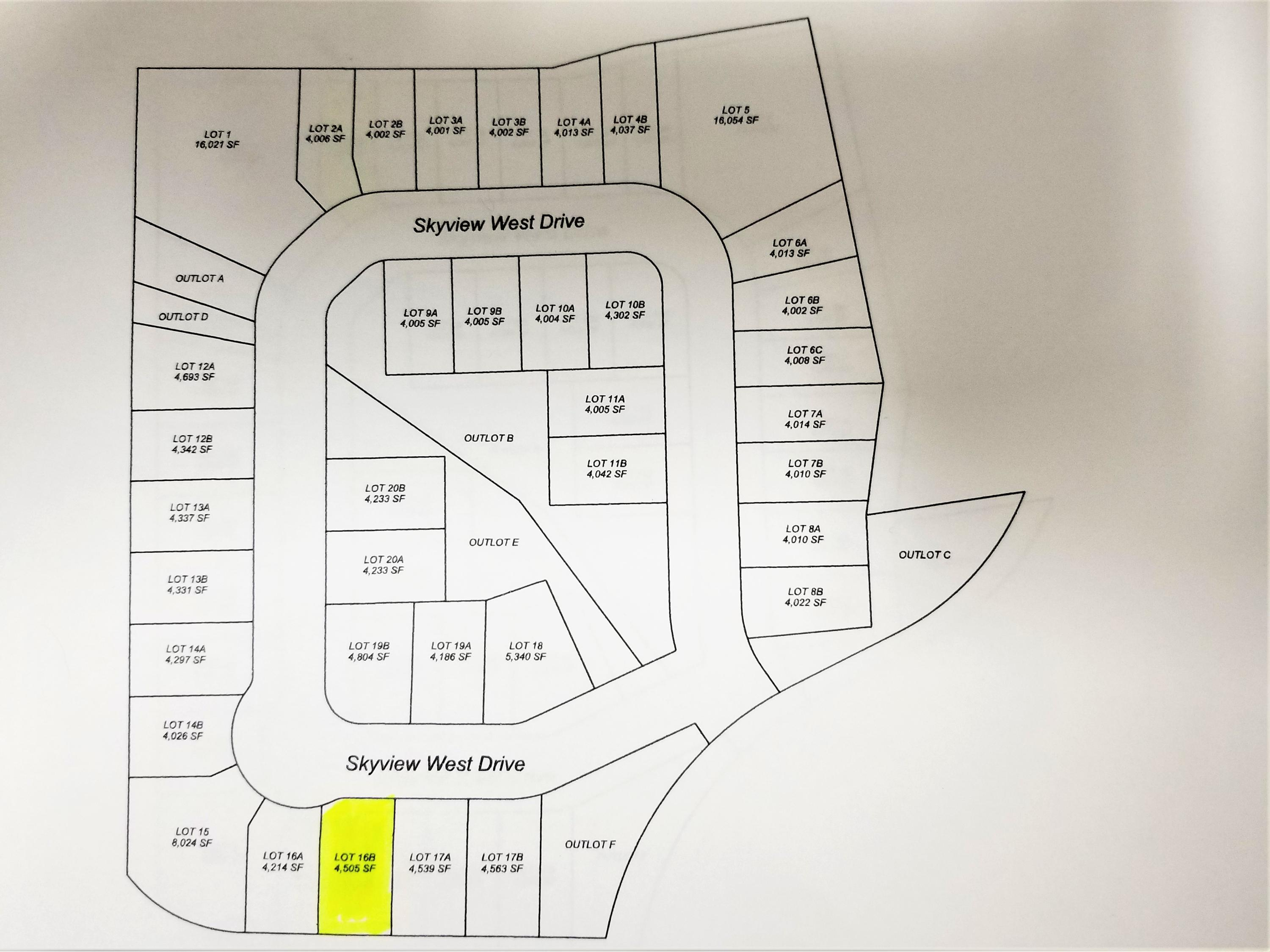2171 Skyview West Drive, Sheridan, Wyoming 82801, ,Building Site,For Sale,Skyview West,18-1303
