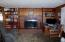 Home heated with fireplace and new propane gas central heating system, ducts to each room
