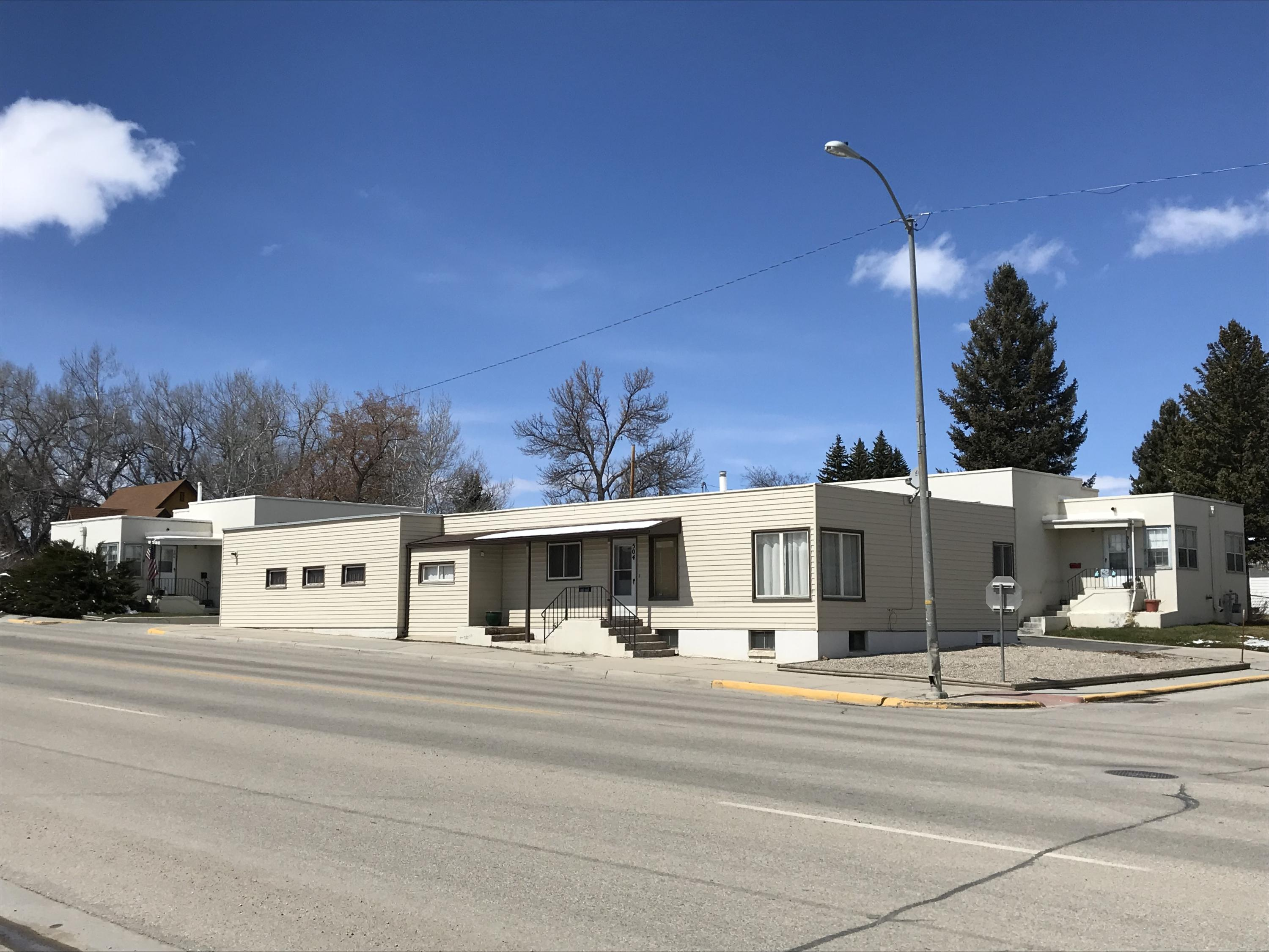 510 Fort Street, Buffalo, Wyoming 82834, ,Multi-Unit,For Sale,Fort,19-339