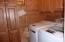 Main Level Laundry adjacent to Kitchen