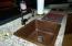 Hand Hammered copper sink & Ice bucket