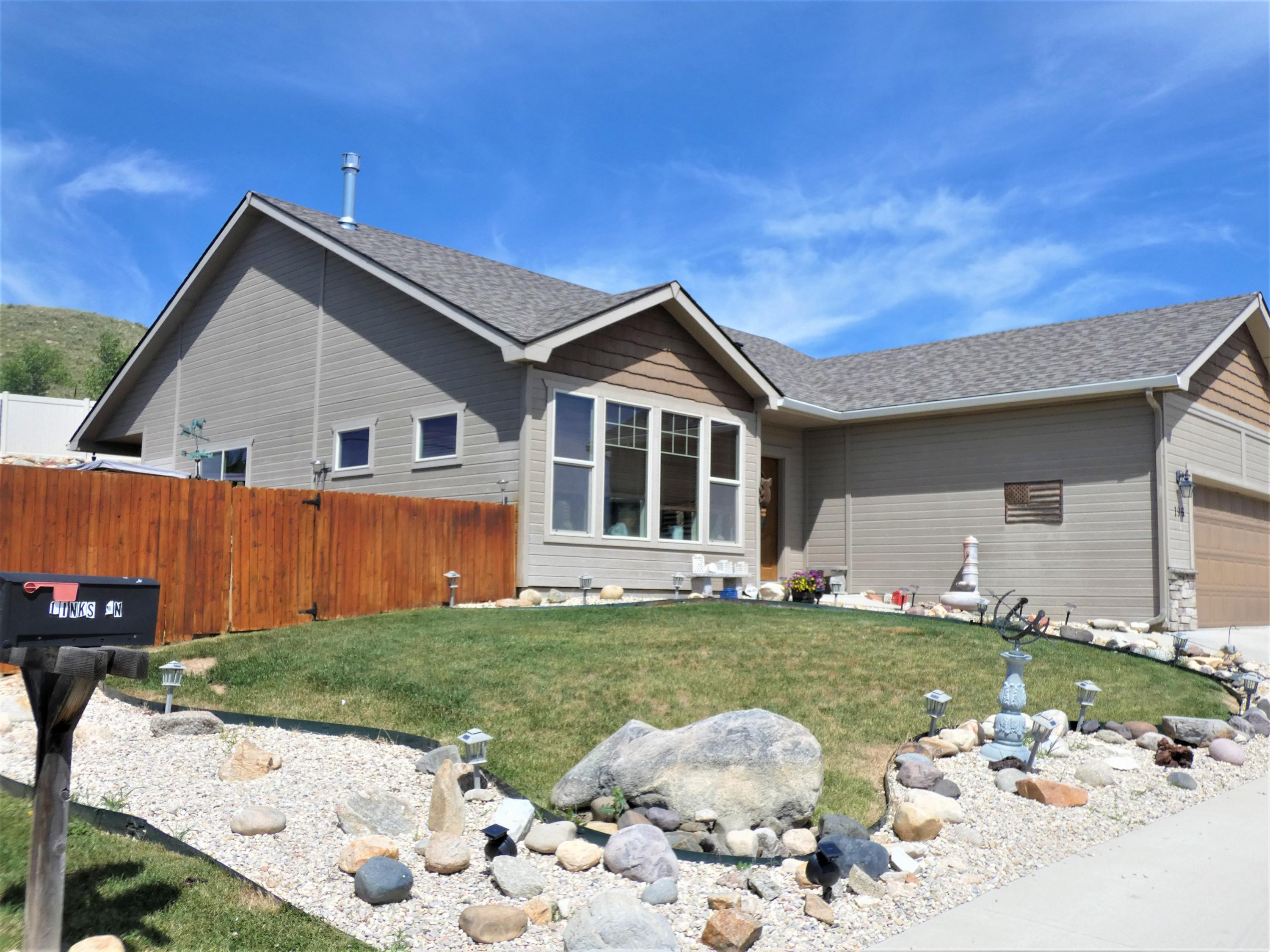 196 Links Lane, Buffalo, Wyoming 82834, 3 Bedrooms Bedrooms, ,2 BathroomsBathrooms,Residential,For Sale,Links,20-758
