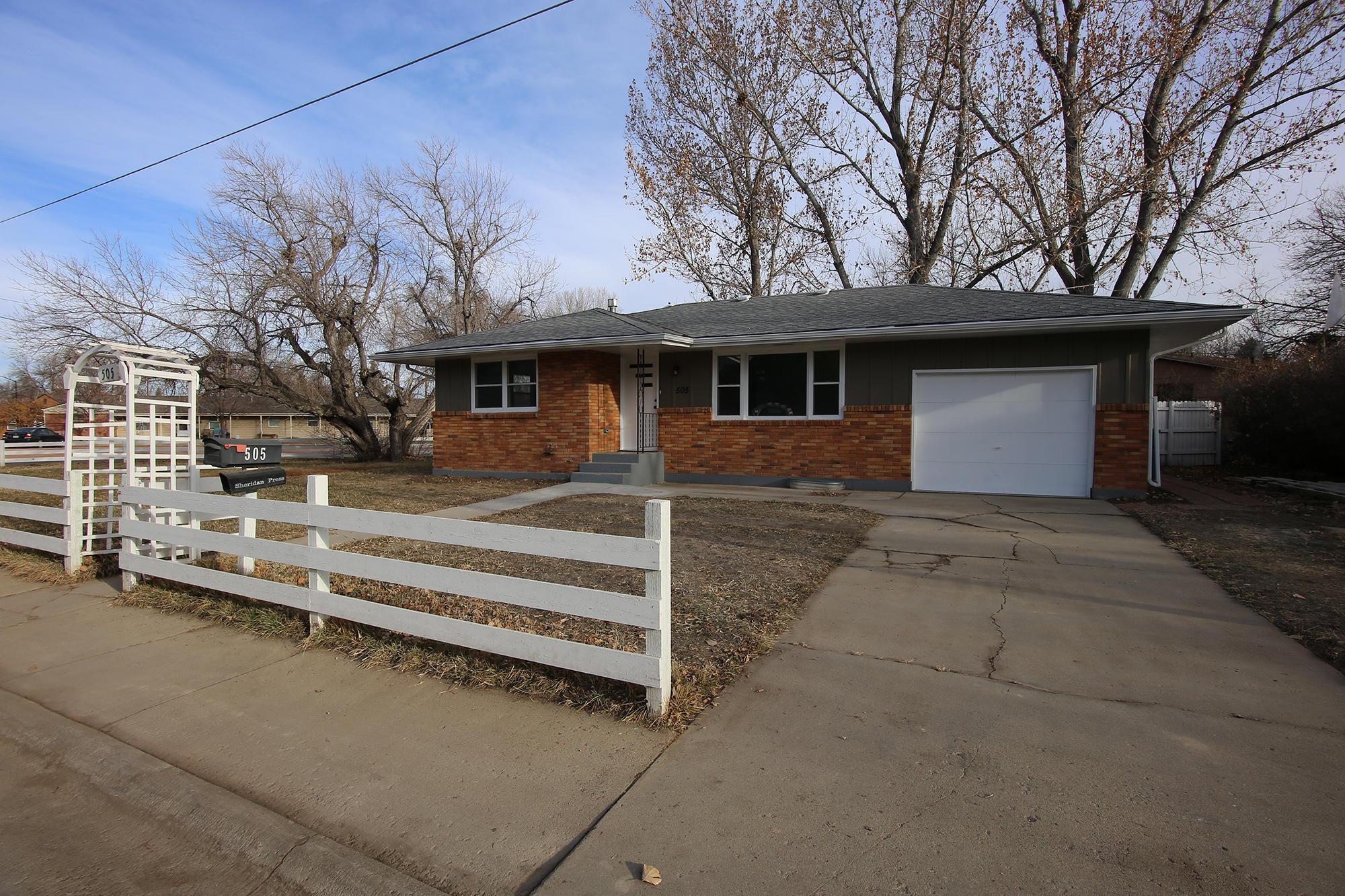 505 Wyoming Avenue, Sheridan, Wyoming 82801, 3 Bedrooms Bedrooms, ,1 BathroomBathrooms,Residential,For Sale,Wyoming,20-1178