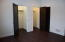 Master bedroom w/2 closets