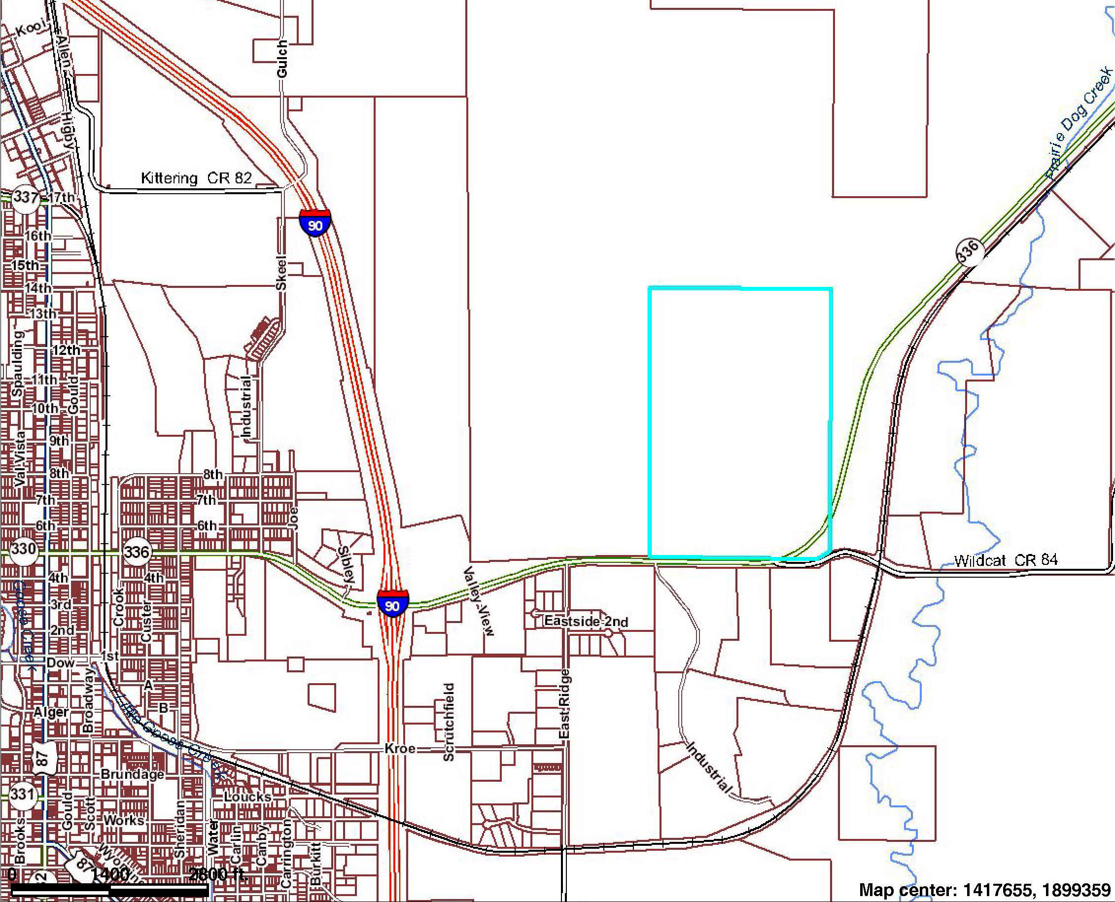 TBD E 5th Street, Sheridan, Wyoming 82801, ,Ranch-Land,For Sale,5th,20-584