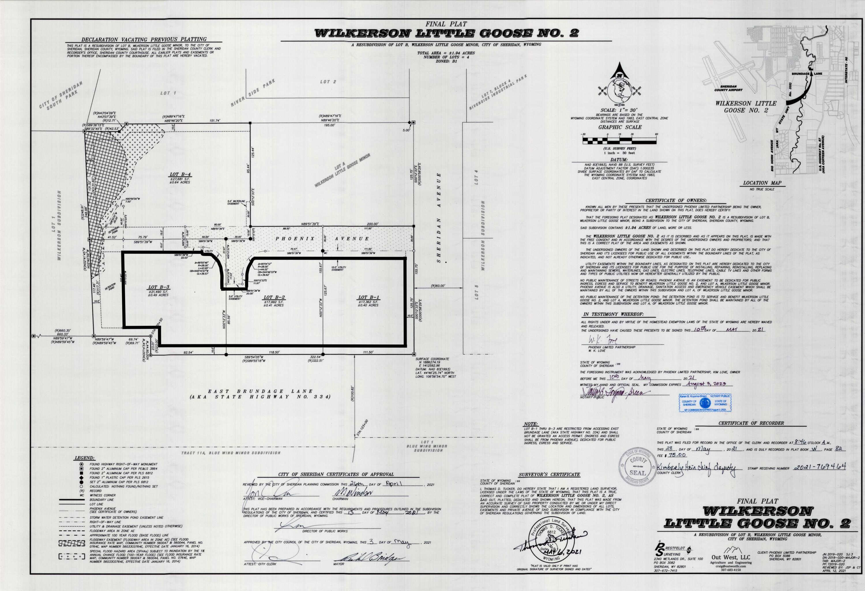 TBD Phoenix Avenue, Sheridan, Wyoming 82801, ,Building Site,For Sale,Phoenix,21-765