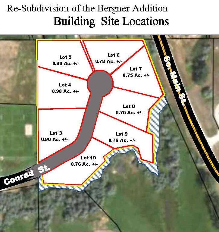 000 Conrad Street, Buffalo, Wyoming 82834, ,Building Site,For Sale,Conrad,21-1203